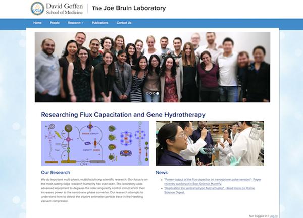 DGIT Laboratory Websites | Themes